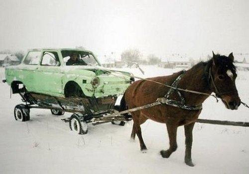 Зимние ошибки автомобилистов