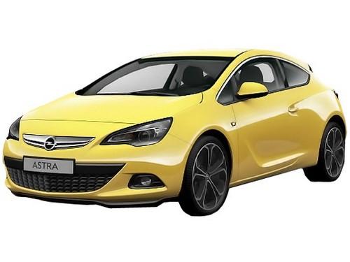 Новый Opel Astra J
