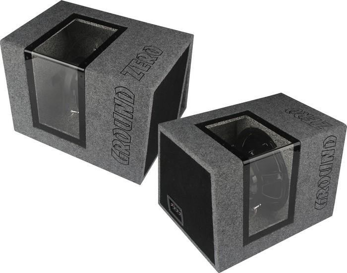 Ground Zero Titanium - новые корпусные сабвуферы